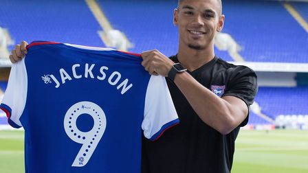 Kayden Jackson has signed a three-year deal with Ipswich Town. Picture: ITFC