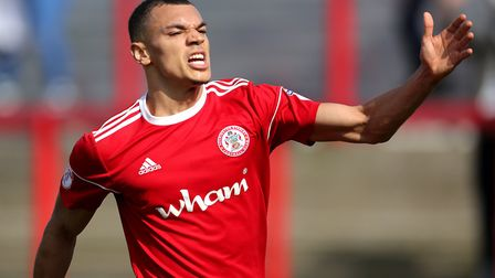 Kayden Jackson has had two seasons in League Two, with Grimsby and Accrington, having previously pla