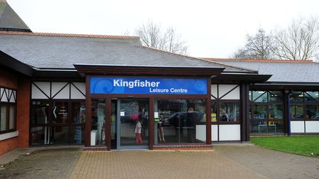 Kingfisher Leisure Centre in Sudbury Picture: PHIL MORELY