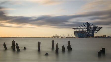 Evening Light by Roger Seaman is one of the images which will be on display at the Felixstowe Photog