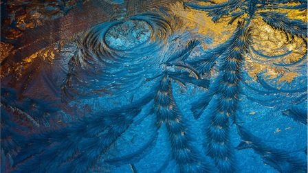 Warm Ice is the title of this colourful composition from Harman Hopkins for the Felixstowe Photograp