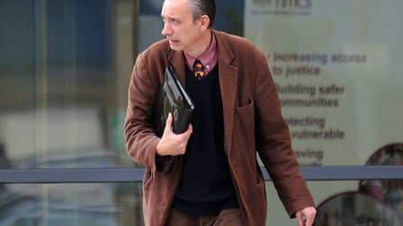 Julian Myerscough at Ipswich Crown Court in 2010 Picture: ARCHANT
