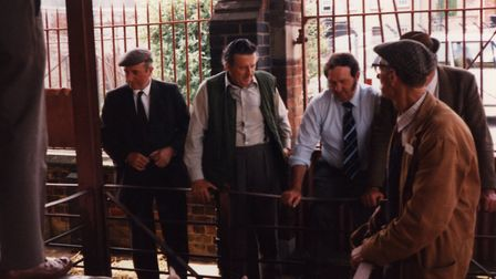Sudbury's Cattle Market closed in 1986 Picture: SUPPLIED BY MICHAEL CRAWFORD