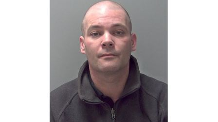 Mark Lufkin jailed for five years for gun offences Picture: SUFFOLK CONSTABULARY