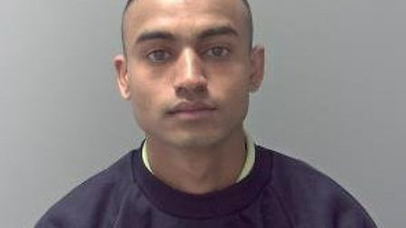 Jewel Miah, who has been jailed for nine years Picture: SUFFOLK POLICE