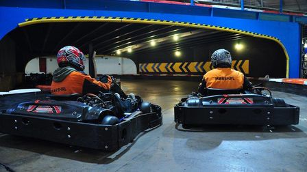 How do you spend your rainy days? Picture: ANGLIAN INDOOR KARTING