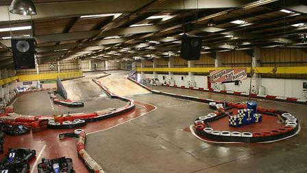 Get ready to race around the tracks at the Anglian Indoor Karting track Picture: ANGLIA INDOOR KARTI