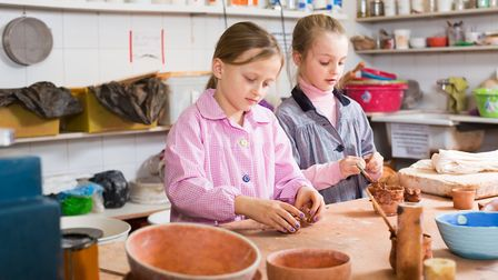 What will you make during your day at a Ceramic Studio? Picture: GETTY IMAGES/ISTOCKPHOTO/JACKF