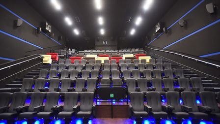 Behind the scenes tour of new Empire cinema in Ipswich. Picture: GREGG BROWN