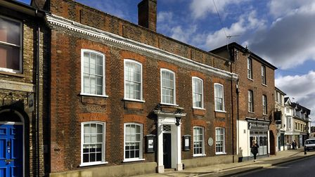 A reception hosted by Sudbury Chamber of Commerce is to be held at Gainsborough's House Picture: GA