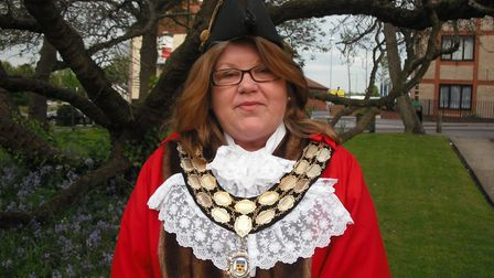 Anne Whybrow was mayor of Stowmarket in 2012/13. Picture: STOWMARKET TOWN COUNCIL