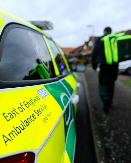 Ambulance bosses say delays are reducing Picture: EAST OF ENGLAND AMBULANCE SERVICE NHS TRUST (EEAST