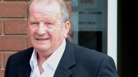 David Waters leaving Suffolk Magistrates Court Picture: ARCHANT