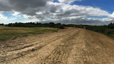 A panoramic view of the sea defence work at Walton on the Naze. Picture: TENDRING COUNCIL