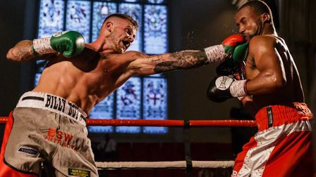 Billy Bird, left, will fight for an English title in Ipswich. Picture: MARK HEWLETT