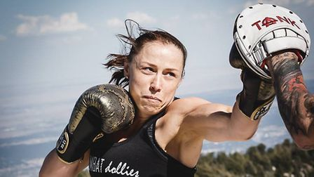 It would be superb to see Kerry Hughes in action at Cage Warriors 99 in Colchester - her hometown. P