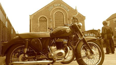 The Long Shop Museum in Lieston will host a motorbike show Picture: Long Shop Museum