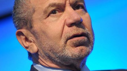 Entrepreneur, businessman, apprentice-hirer and multi-millionaire Lord Sugar didn't stay on at schoo