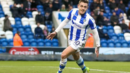 Sammie Szmodics, who pulled a goal back to make it 2-1 at Cheltenham. The match ended 2-2, but the U