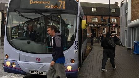 A bus in Chelmsford. Picture: PIERS MEYLER