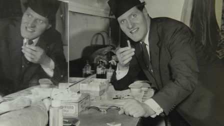 Tommy Cooper Picture: Angela Sharpe