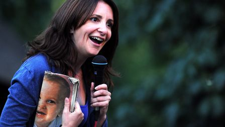 Lucy Porter Picture: Nick Butcher