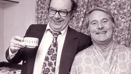 Eric Morecambe and Ernie Wise Picture: ARCHANT