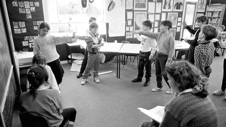 Drama is another key lesson that would always feature in the school curriculum. Picture: RICHARD SNA