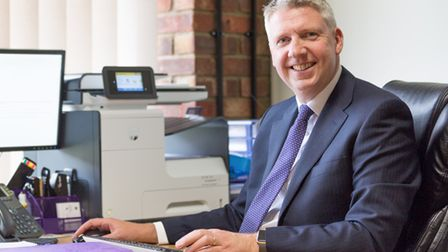 Colin Low, ceo of Kingsfleet Wealth, Claydon, Ipswich, Suffolk. Picture: Simply C Photography