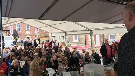 Crowds at last year's Newmarket Food and Drink Festival Picture: KIRSTIN STANLEY HUGHES