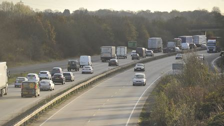 The crash happened on the A12. Stock image. Picture: ARCHANT