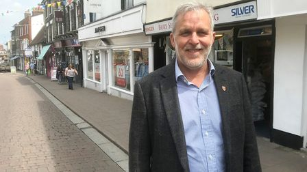 Bury BID chief executive Mark Cordell. Picture: OUR BURY ST EDMUNDS