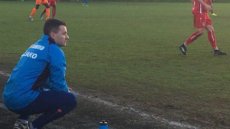 Braintree Town boss Brad Quinton, who was an angry man following his side's 4-3 defeat on Saturday