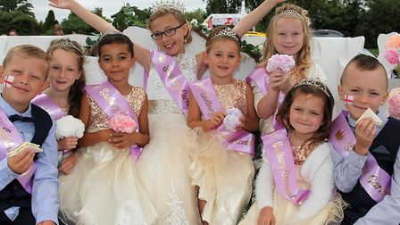 The Sudbury Carnival kings and queens Picture: ANDY HOWES