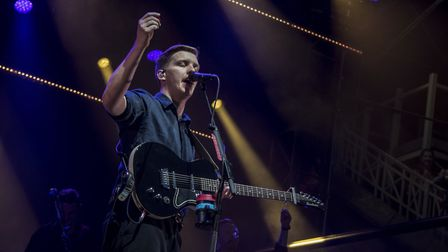 The George Ezra concert at Newmarket Nights. Picture: MARTIN DUNNING/ON TRACK MEDIA