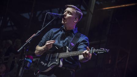 George Ezra in concert at Newmarket Nights. Picture: MARTIN DUNNING/ON TRACK MEDIA