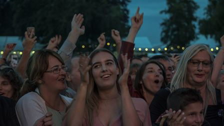 Audience members at the George Ezra concert. Picture: MARTIN DUNNING/ON TRACK MEDIA