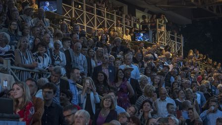 The audience at the George Ezra concert at Newmarket Nights. Picture: MARTIN DUNNING/ON TRACK MEDIA