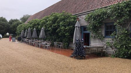 The Leaping Hare restaurant at Wyken Vineyards in Stanton, near Bury St Edmunds. Picture: MARK HEATH
