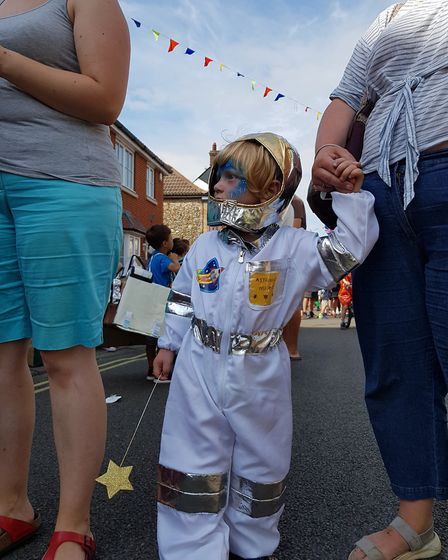 Space-themed fun at Aldeburgh Carnival Picture: RACHEL EDGE