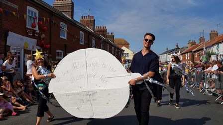 Space-themed festivities at Aldeburgh Carnival Picture: RACHEL EDGE