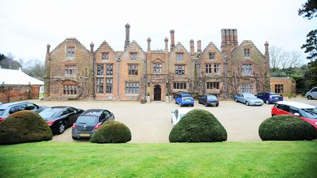 Seckford Hall Picture: GREGG BROWN