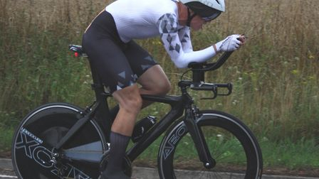 Andrew Proffitt (Ipswich BC) – winner of the Diss 25. Picture: DOMINIC AUSTRIN