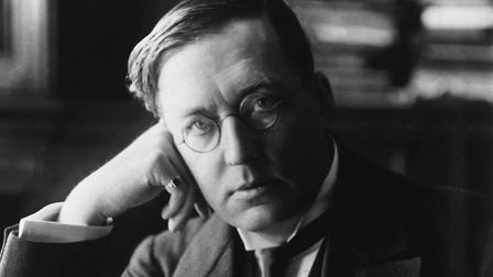 Suffolk author M R James who used the Suffolk landscape to conjure up his supernatural tales of susp