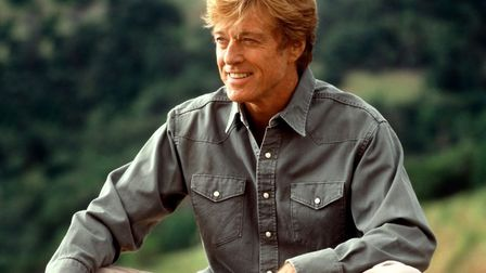 Robert Redford has announced his retirement. This image was taken in 1992 on set of A River Runs Thr