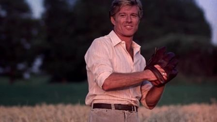 Robert Redford as Roy Hobbs in The Natural Photo: Sony Pictures