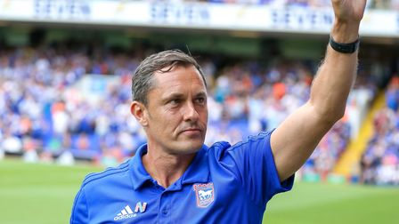 Paul Hurst wants to put on a positive display against Aston Villa. Picture: STEVE WALLER