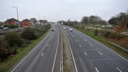 Junction 22 on the A12.