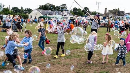 An afternoon of fun and games at the 72nd Benhall Show Picture: SARAH SLADE