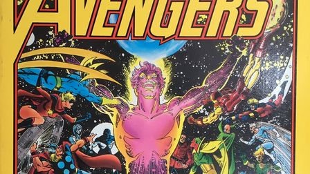 The The Avengers Korvac Saga graphic novel which brings together in one volume a classic Avengers st